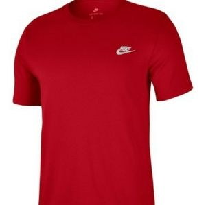 Nike club embroidered t shirt